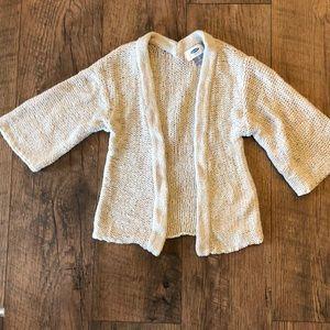 Old Navy neutral kimono sweater like new